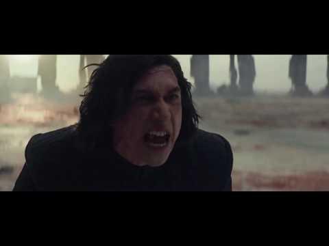 Kylo Ren angry scenes