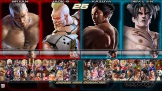Tekken Tag Tournament 2 Gameplay Movie 1 (Arcade)