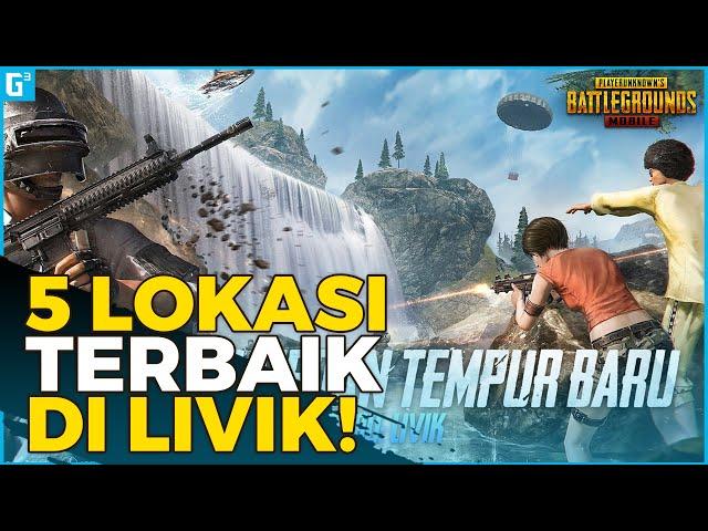 5 LOKASI LOOTING TERBAIK DI LIVIK! - PUBG Mobile
