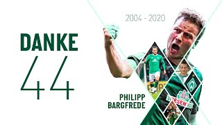 #DANKE44 - Best of Philipp Bargfrede | SV Werder Bremen