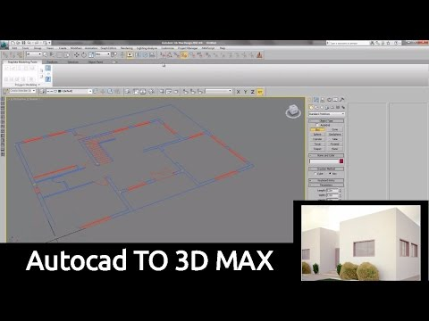 Autocad TO 3D MAX
