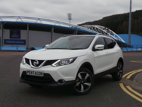 2016 16 Nissan Qashqai 1.5 DCi N-connecta 5dr Inc Comfort Pack - Delivery Miles in white