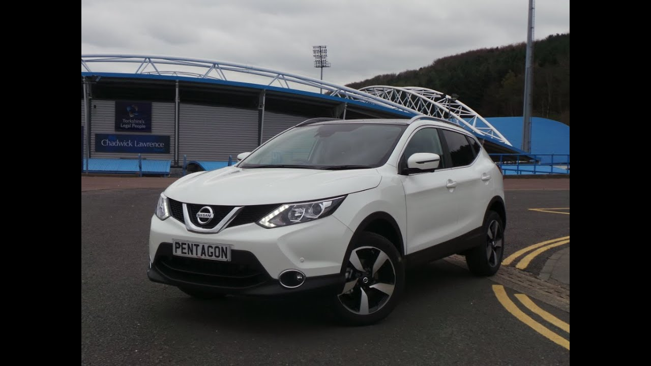 2016 16 nissan qashqai 1 5 dci n connecta 5dr inc comfort pack delivery miles in white youtube. Black Bedroom Furniture Sets. Home Design Ideas