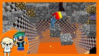 Minecraft - Death Cube Mini Game with Cybernova - A Lava Parkour Survival Game