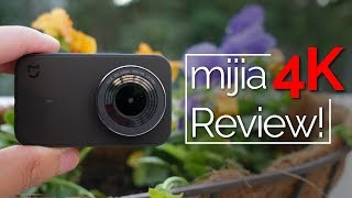 Xiaomi Mijia 4k Action Camera Mini Review - Great Value!