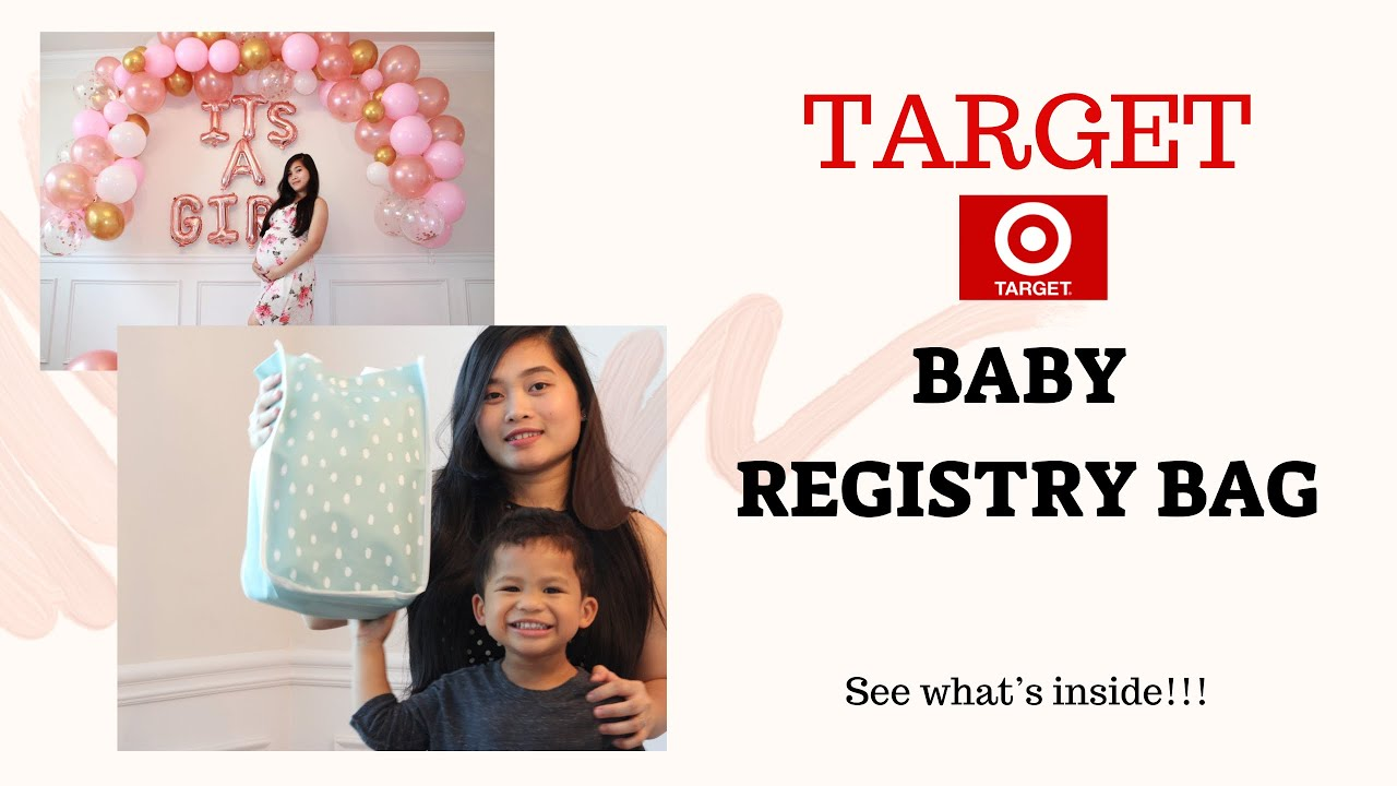 TARGET BABY REGISTRY BAG 2020 | THE SAMUELS SQUAD - YouTube