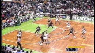 Larry Bird 1992: 49pts, Triple-Double vs. Clyde Drexler 41pts