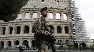 Security stepped up in Rome ahead of Catholic jubilee - no comment
