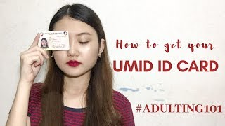 How to get your UMID Card 2018 (Philippines) #Adulting101 | Yurianne Kim