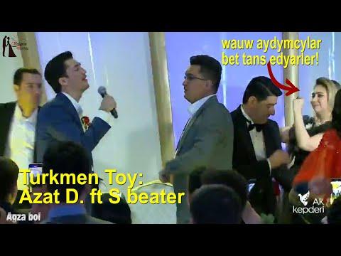 Turkmen Toy: Wauw Aydymcylar Bet Tans Edyarler, ( Azat.D Ft S.beater )  #turkmentoy