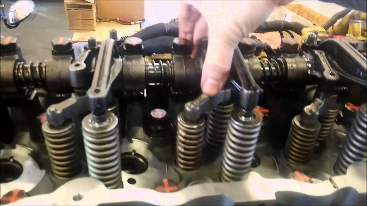 hight resolution of how to adjust a cat overhead valve adjustment