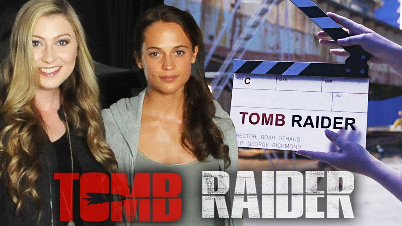 Im on the tomb raider movie set katie wilson youtube im on the tomb raider movie set katie wilson thecheapjerseys Image collections