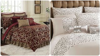 Top Trendy 44 Queen Comforter Sets/Royal Bedspread/Bedsheets For Brides