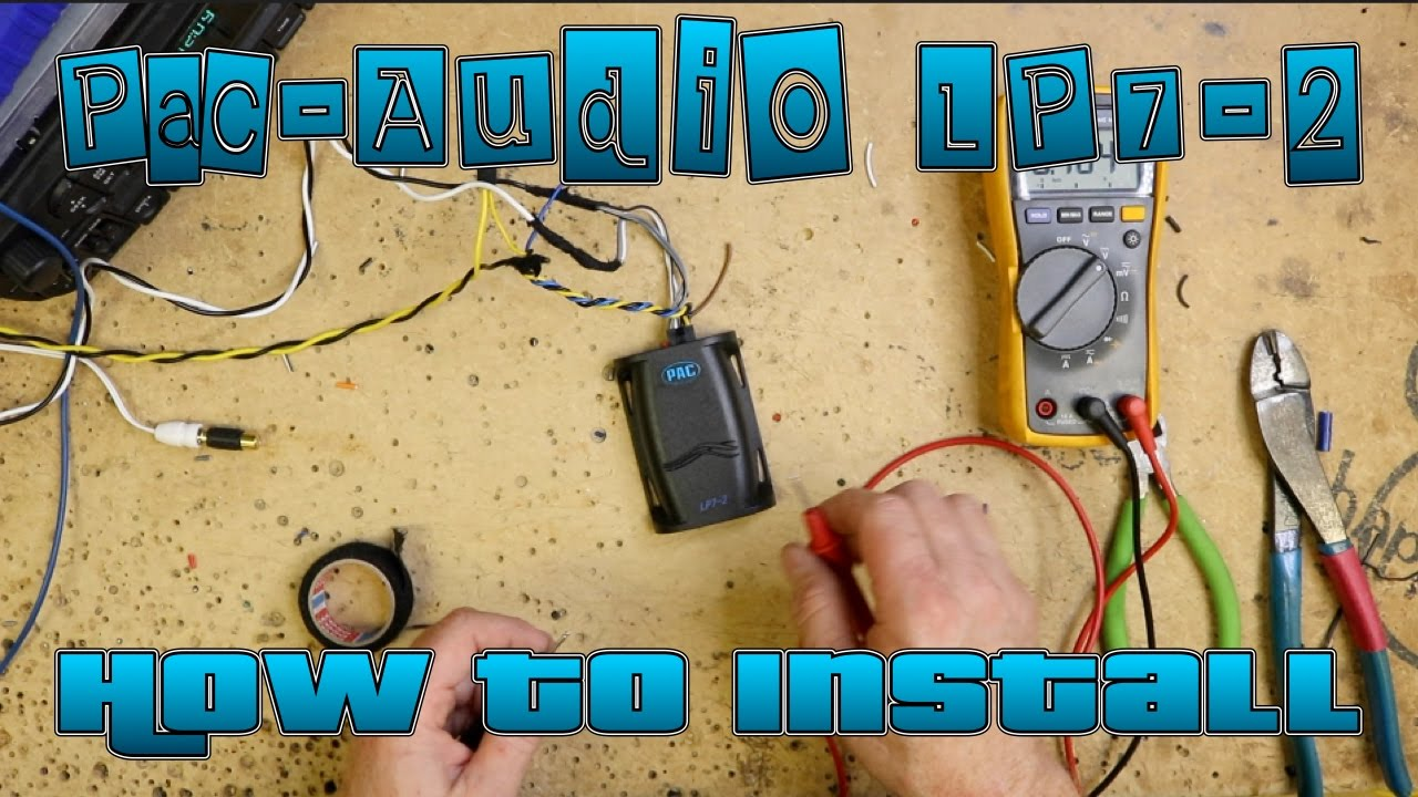 maxresdefault how to connect a pac audio high to low level adapter, the lp7 2 pac audio tr7 wiring diagram at couponss.co
