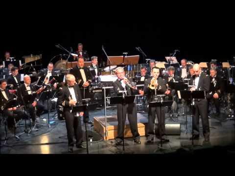 """Backrow Politics"" (Gordon Goodwin) 2014 Royal Band of the Belgian Navy"