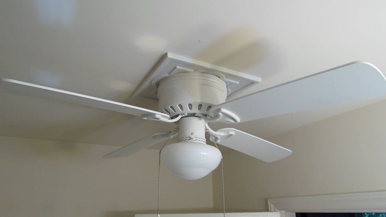 How to home improvement install a ceiling fan in an for Bathroom ceiling fans