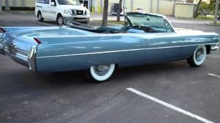 1964 CADILLAC DEVILLE CONVERTIBLE MINT FLOIDA CAR WWW.BIGBOYHOTRODS.COM    $42900