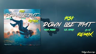 KSI - Down Like That (Trap Remix/ Fight Anthem) [Feat. Rick Ross, Lil Baby & S-X]