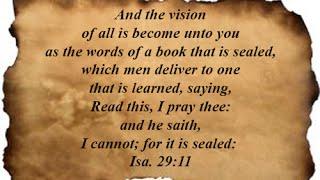 Isaiah 29:11 - YouTube