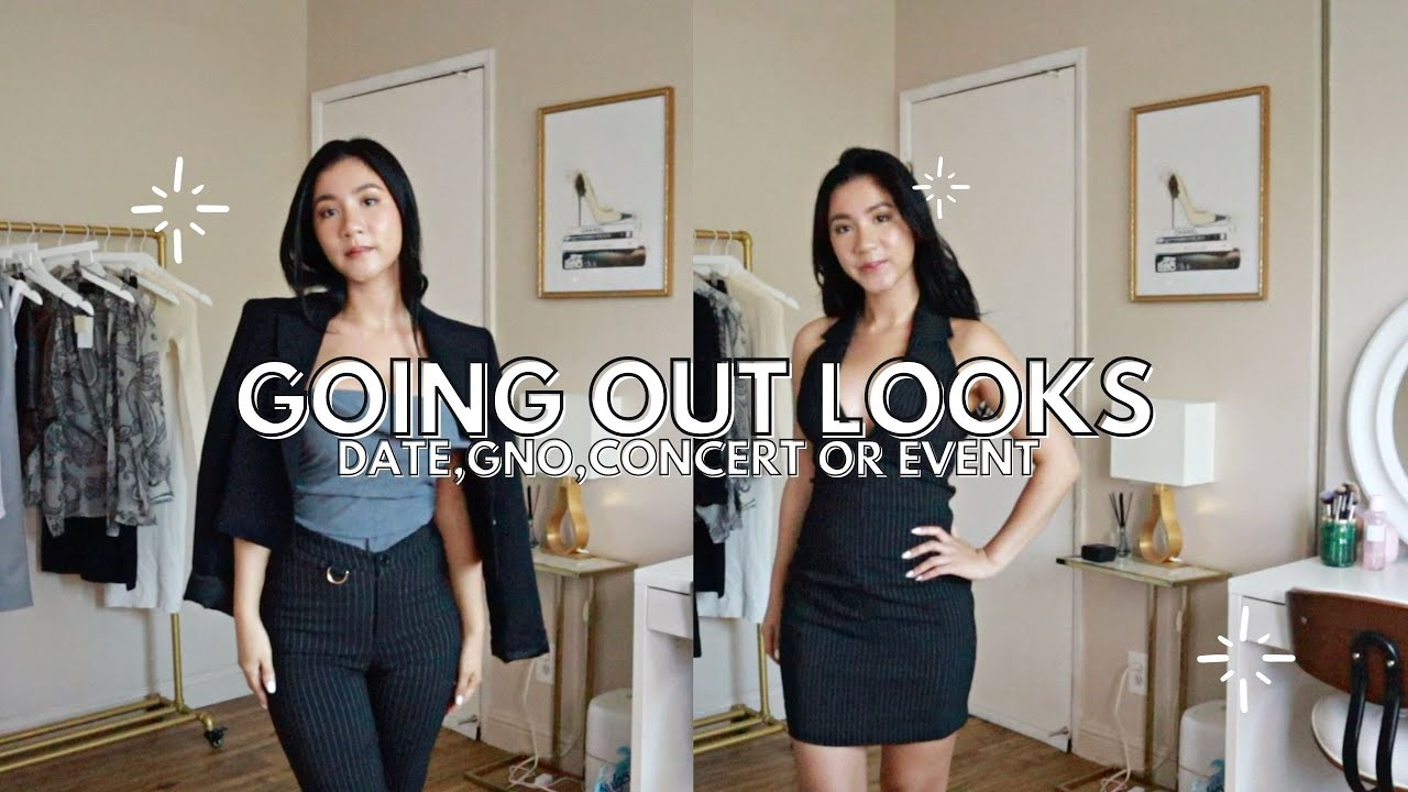 My Going Out Looks | Concert, Date night, GNO