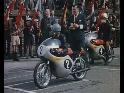 HONDA - Isle of Man TT - Golden Years - Jim Redman - Mike Hailwood