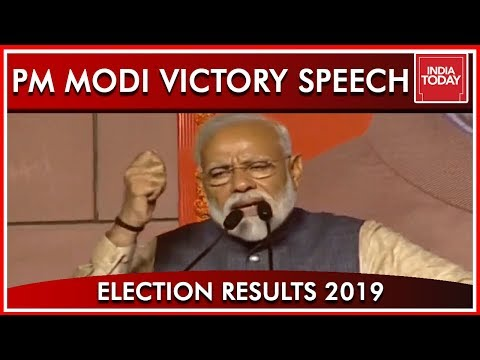 PM Modi Victory Speech Live, Thanks The Nation For Uniting To Vote For Him Once Again