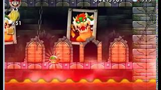 New Super Mario Forever 2012 [PC] Walkthrough - Map 8 + Ending
