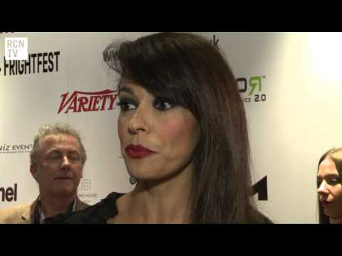 Michele Placido & Maria Grazia Cucinotta Interview - Tulpa - FrightFest 2012