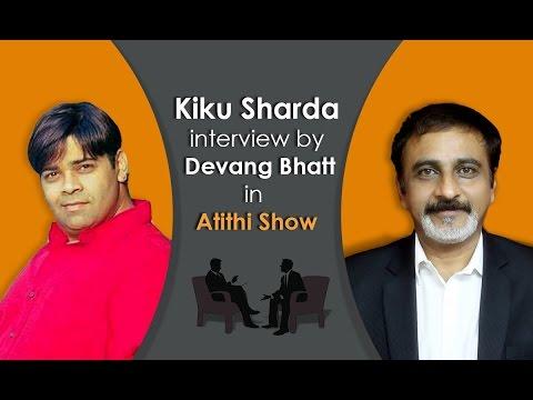 Best Comedy Actor Kiku Sharda (Palak | Gulgule) Interview by Devang Bhatt