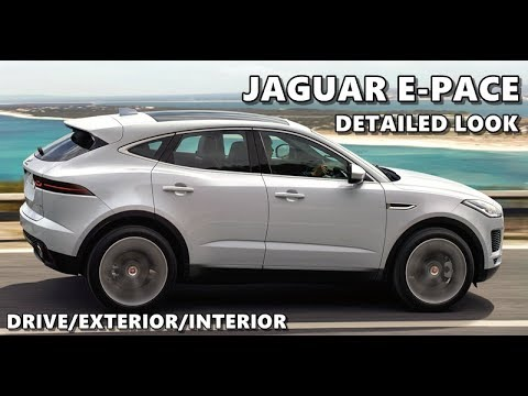 2018 jaguar e pace exterior interior driving youtube. Black Bedroom Furniture Sets. Home Design Ideas