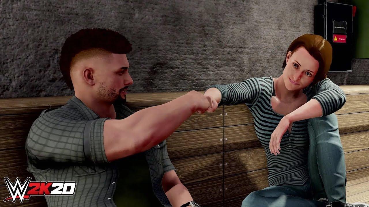 PS4『WWE 2K20』MyCAREER預告片