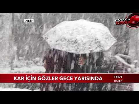 İstanbul'a Beklenen Kar Gece Yarısı Giriş Yapacak