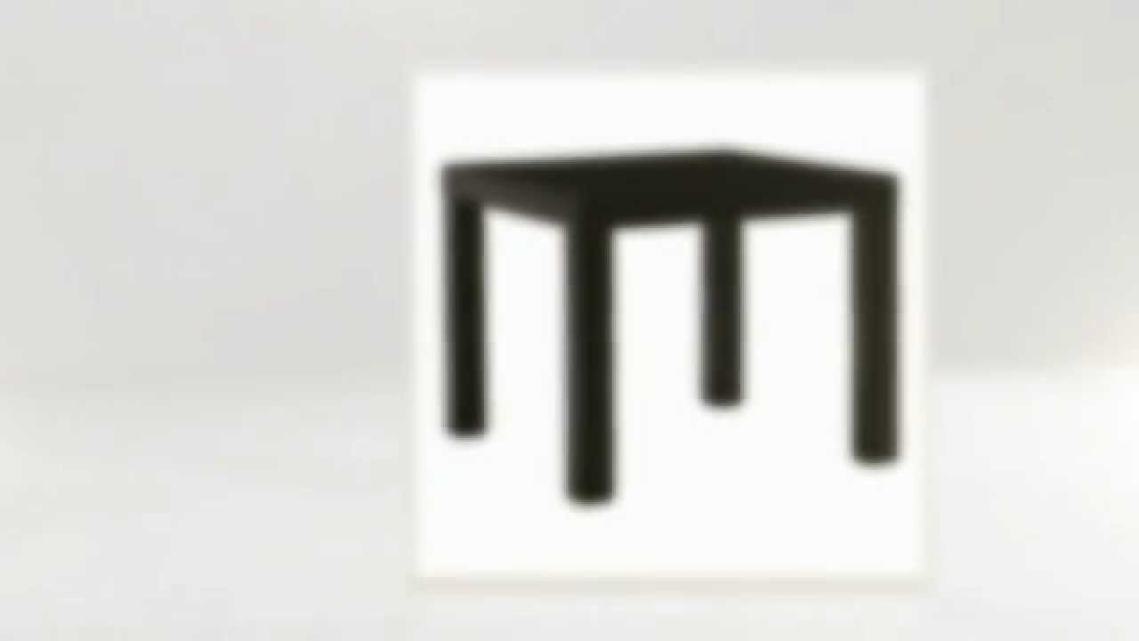 Журнальный столик из IKEA,coffee table - YouTube