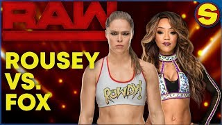 🔴 WWE RAW LIVE HANGOUT SHOW! ROUSEY is ON! 🔴