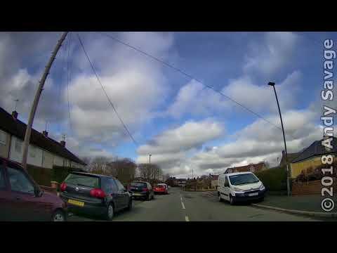Derby streets by car - Mackworth Estate March 2018