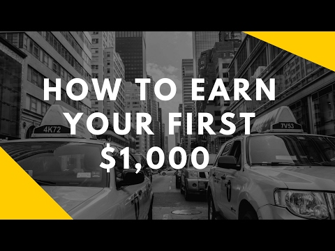 How to Earn Your First $1,000 By Investing In the Stock Market