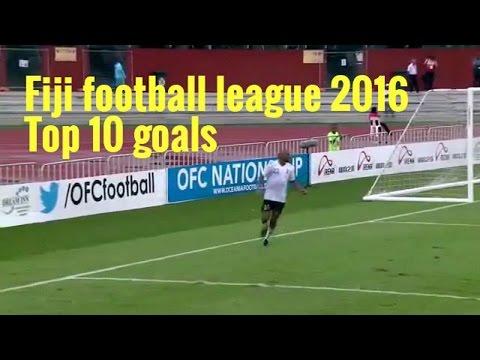 Fiji football league 2016 - Top 10 goals