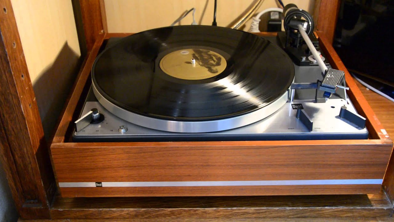 Dual 1219 Fully Automatic Turntable Early 1970 Youtube