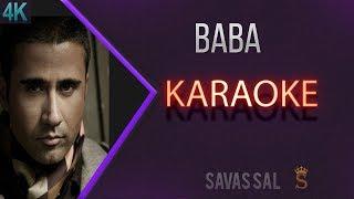 Dönülmez Gidişin Böylem Mi Baba Karaoke 4k