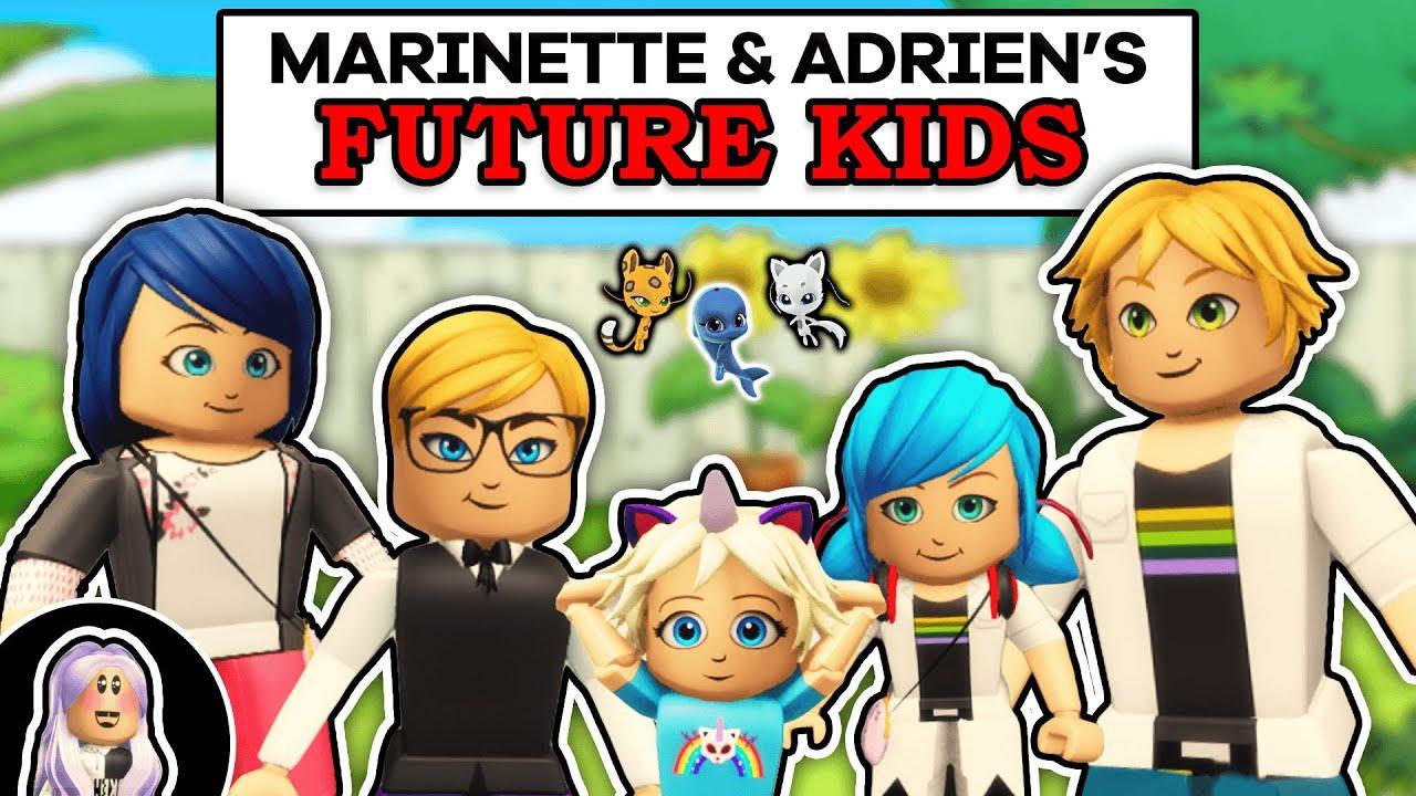 Download FUTURE MIRACULOUS: Marinette & Adrien's Future Kids Ep #1 (Miraculous Roblox Mini-Movie)