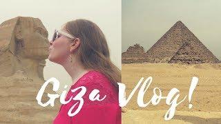 Egypt Vlog - Giza Pyramids, Sakkara & Memphis