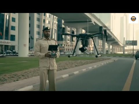 Dubai Police Smart ways to Control traffic  || by CARS WORLD