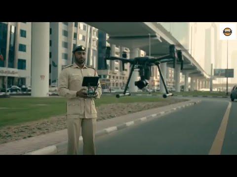 Dubai Police Smart ways to Control traffic  || by CARS WORLD