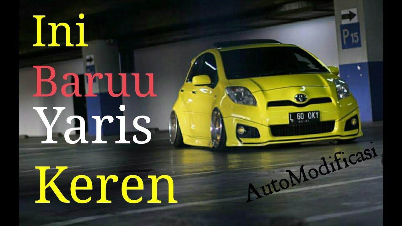 Modifikasi Toyota Yaris Kuning Keren Banget YouTube
