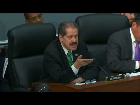 Congressman Serrano Questions US Army Corps of Engineers on Puerto Rico Disaster Relief Efforts