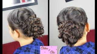 Elegant Braided Updo | Elegant Hairstyles | Prom Hairstyles