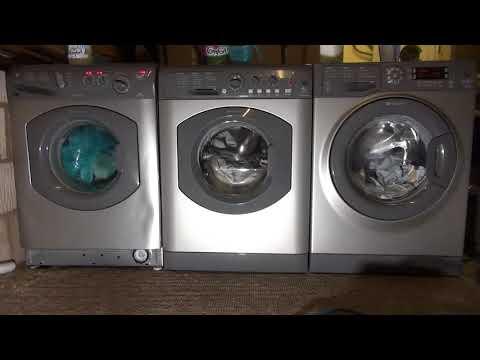 Wash race : Hotpoint vs Hotpoint Vs Hotpoint Fast wash 60 generation race
