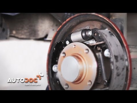 How To Change Rear Brake Cylinder VW LUPO TUTORIAL | AUTODOC