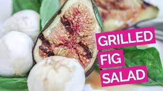 Honey & Grilled Fig Salad Recipe