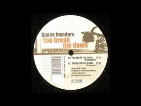 Music video Space Invaders - You Break Me Down